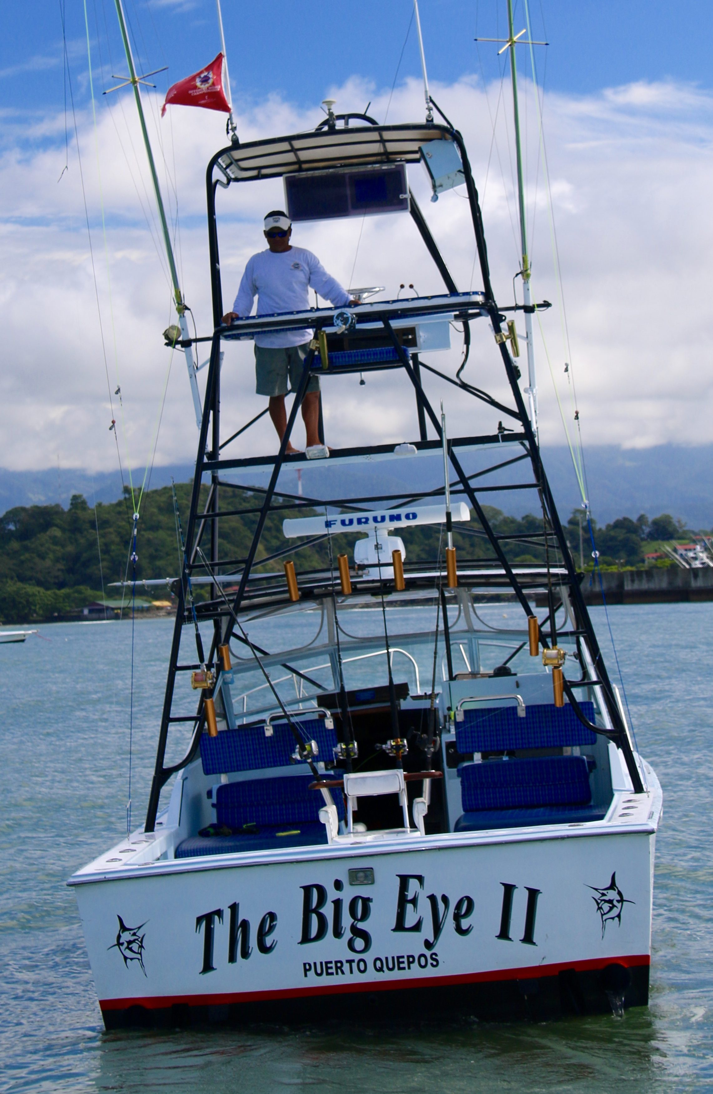 Quepos Fishing Charter Boat Big Eye two