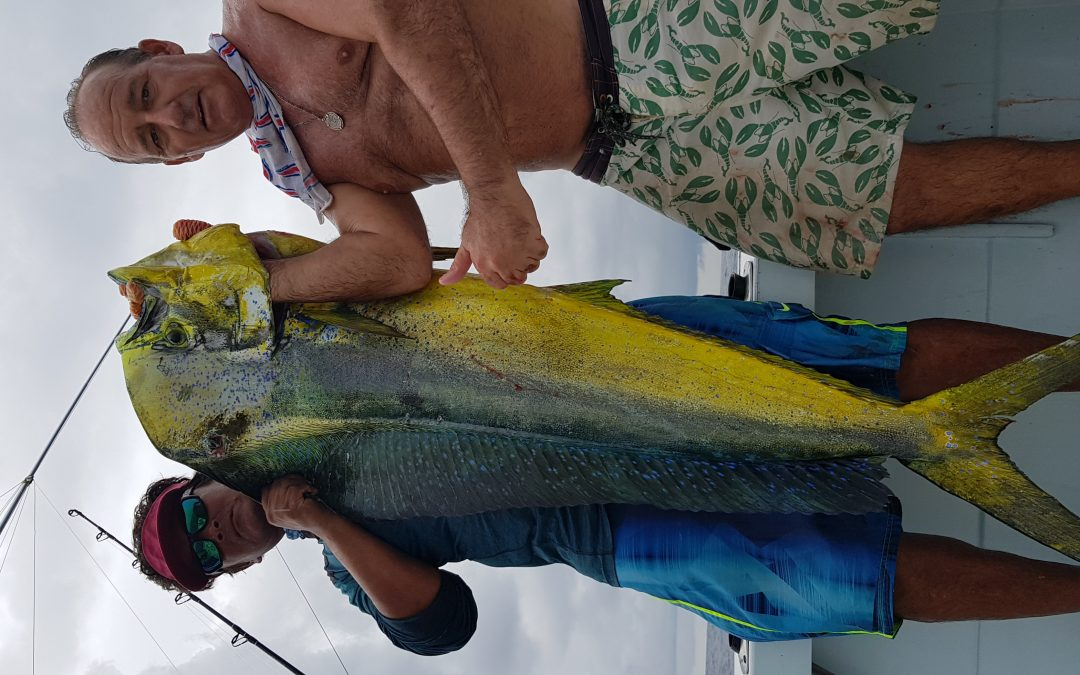 Mahi mahi fishing , Quepos Costa Rica .