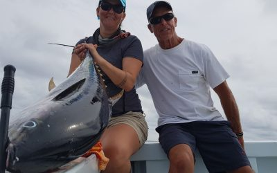 Quepos Tuna Fishing is still hot in July