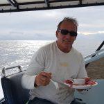 Tuna bite in Quepos Costa Rica Marina pez vela