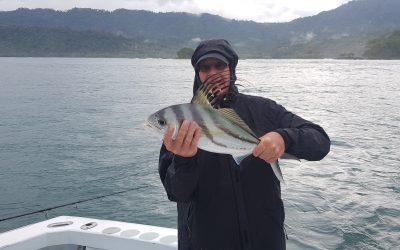 Quepos Costa Rica , fishing on board the  Big eye II.