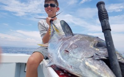 Marina Pez Vela Yellowfin Tuna Fishing March 19, 2019