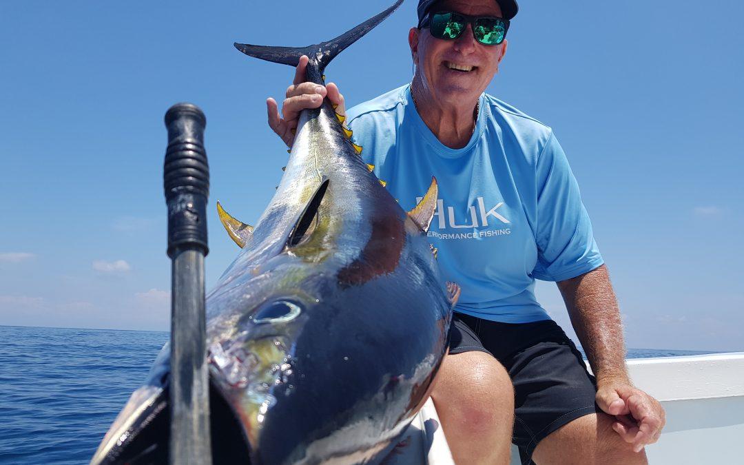 Costa Rica Yellowfin Tuna Fishing March 20, 2019