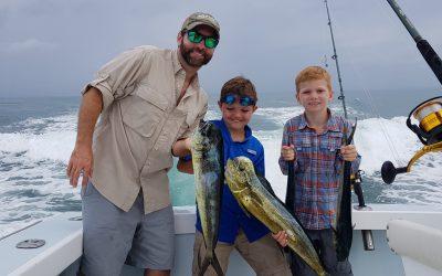 June 12th Dorado and Shark Fishing