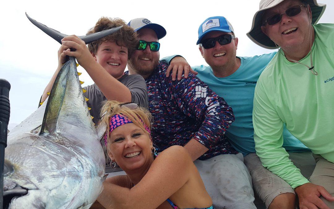 July 16 Tuna Dorado and Mackerel Fishing Marina Pez Vela, Costa Rica