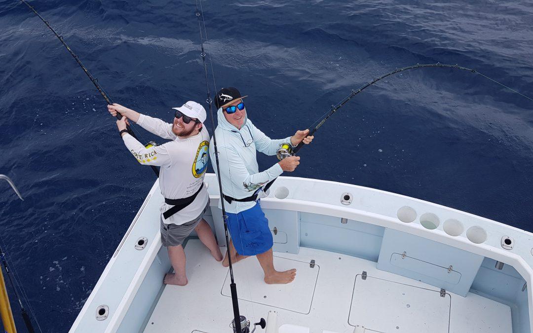 August 2 Sailfish and Dorado Fishing Manuel Antonio, Costa Rica