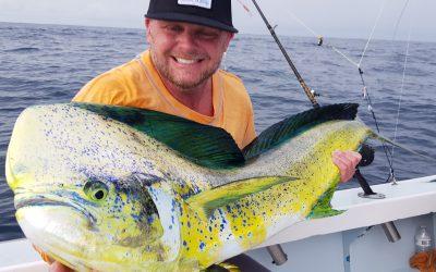 November 12, 2019 – Dorado for Days fishing in Costa Rica!