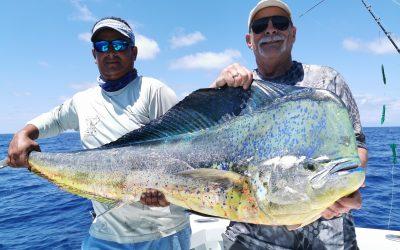 March 12, 2020 – Marlin, sailfish, tuna, dorado fishing Quepos Costa Rica