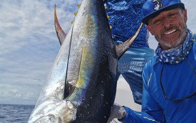 Yellowfin Tuna & Wahoo fishing out of Quepos, Costa Rica