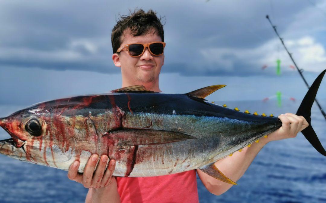 Sailfish and tuna are still running hot offshore