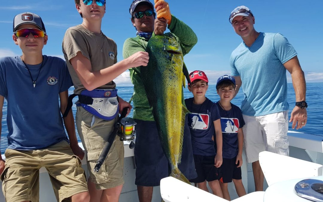 Quepos Fishing Report Nov 30 – Fun for the whole family